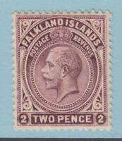FALKLAND ISLANDS 43 MINT HINGED OG *  NO FAULTS EXTRA FINE !