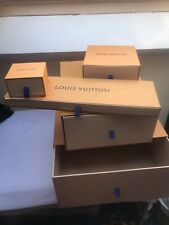 Louis Vuitton Various Sizes  Pull Out EMPTY  Gift Storage Boxes