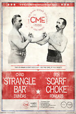 CoMain Event Podcast Face Off CME Fight Dundas Scarf Talk Radio Poster 11x17