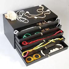 """5 Drawer Jewelry Storage Organizer 15 1/8"""" x 8 3/8""""D x 7 5/8""""H"""