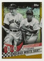 2020 Topps Series 2 CHICAGO WHITE SOX Decades Best CHROME GOLD REFR. /50 #DBC-10
