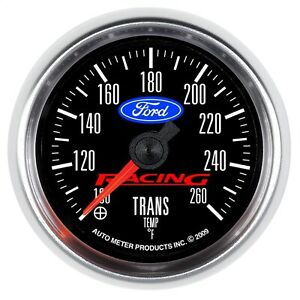 AutoMeter 880314 Ford Racing Series Transmission Temperature Gauge