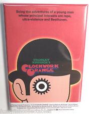 "Clockwork Orange Movie Poster 2"" x 3"" Refrigerator Locker Magnet Kubrick"