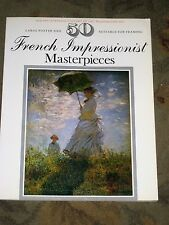 50 French Impressionist Masterpieces - Large Poster Size - Suitable for Framing