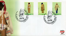 Malta 2018 FDC Traditional Costumes 3v Set Cover Cultures Traditions Stamps