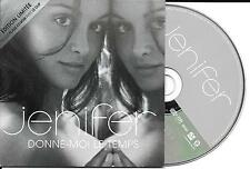 CD CARTONNE CARDSLEEVE JENIFER DONNE MOI LE TEMPS 2T + CLIP  TBE