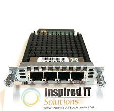 VIC2-4FXO - Cisco 4 Port Voice Fax Interface FXO *Same Day Shipping*