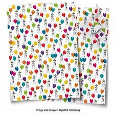 Schnauzer dog gift wrap Birthday, Christmas wrapping paper 2 sheets, 2 tags