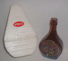 """""""Apollo 17"""" Amethyst Iridescent 1972 Limited First Ed. Wheaton Glass Decanter"""