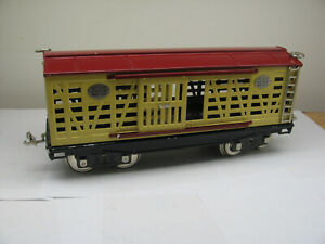 MTH Standard Gauge Early Production Cattle Car No. 213 Boxed