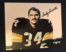 Andy Russell Pittsburg Steelers Signed 8 X 10 Photo Autographed