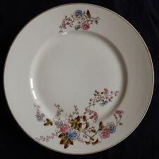 / Assiette en Porcelaine de Limoges ou Paris XIXè (Petites fleurs) (n°5)