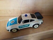 Porsche 911 Turbo Polizei  -ferngesteuert -Modell  70 er Jahre von W/K.