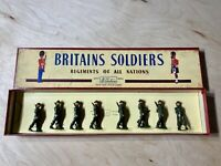 Britains Soldiers British Infantry In Full Battledress Toy Soldiers No.1858