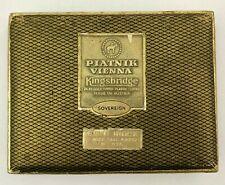 PIATNIK Vienna Kingsbridge Sovereign Bridge Playing Cards 24K Gold Tipped