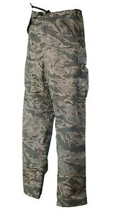 NEW GENUINE US AIR FORCE ABU TIGER STRIPE ECWCS APECS GORETEX TROUSERS. XL-R #2.