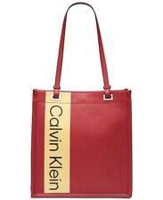 Calvin Klein CK Tote Red Handbag Purse MSRP$148