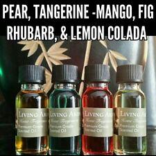 Island & Fruity Scented Premium Fragrance Burning Oils 1/2oz