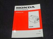HONDA generator EU20 i INSTRUKTIEBOEKJE