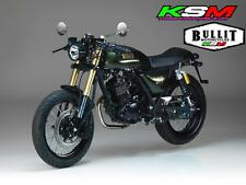 BRAND NEW BULLIT MOTORCYCLES SPIRIT 125CC LEARN LEGAL 'CAFE STYLE'