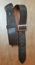 Triple K Black Leather Gun & Accessories Belt. 36