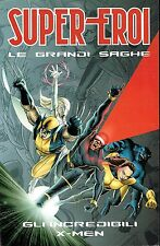 "LE GRANDI SAGHE n.10 ""gli Incredibili X Men"" ed. Panini"