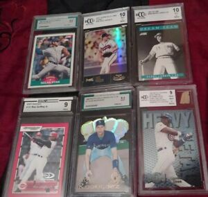 mystery packs baseball and soccer cards chance at GRADED CARD 9 AND UP
