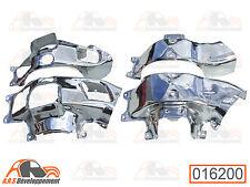 4 Toles carter moteur  chromées de citroen 2cv4 dyane 435cc - 16200 -