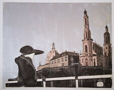 STEPHEN WHITE 1976 ART PRINT SIGNED ARTIST PROOF NUMBERED 7/20 24x30