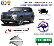 To suit: Lexus LX570 - Transmission torque converter lock up kit