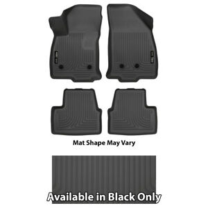 Husky Weatherbeater Series Front & 2nd Seat Floor Liners - Choice Of Color