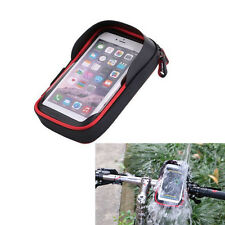 Waterproof Motorcycle Bike Handlebar Holder Mount Bag Case for Mobile Phone GPS