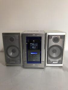 JVC Minidisc Hifi NX-MD1R CD/MD MDLP RDS Radio Tested & Working