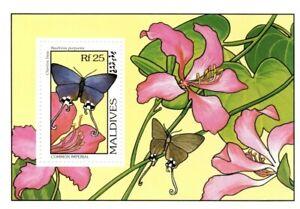 VINTAGE CLASSICS - Maldives 1905 - Common Imperial Butterflies - S/S - MNH