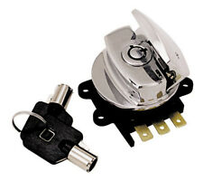 V-FACTOR ROUND KEY IGNITION/LIGHT SWITCHES FOR BIG TWIN