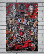 D-783 Hot NEW Classic Movie Akira Red Fighting 27x40IN fabric Art Poster
