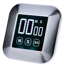 Touch Screen Digital Probe Oven Meat Timer Alarm Clock fr BBQ Grill Meat Cooking