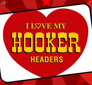 Hooker Headers Vintage Muscle Car Drag Racing T-Shirt Ratrod Hot Rod Race Camaro