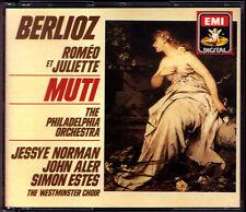 Riccardo Muti: Berlioz Romeo et Juliette Jessye Norman Simon Estes John Aler 2cd