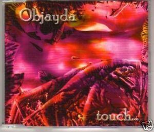 (B392) Objayda, Touch - new 2003 CD