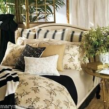 NIP RALPH LAUREN PLAGE D'OR 7pc QUEEN COMFORTER SET/BEDSKIRT/SHAMS/FLAT SHEET/PC