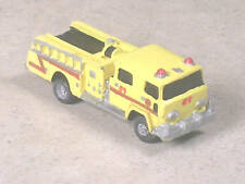 N Scale 1980 Yellow Pierce Fire Pumper Truck #89