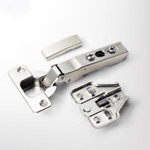 304 Stainless Steel Hydraulic Hinge Pure Copper Damper Buffer Cabinet Door H^BI