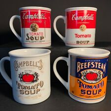 Campbell's Soup 125Th Anniversary Coffee Mug Collection Vintage