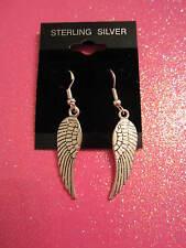 925 STERLING SILVER WING EARRINGS