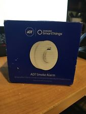 Samsung SmartThings ADT Smart Smoke Alarm White (Only works with ADT Hub) NEW
