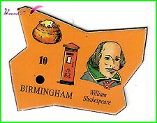Magnet Le Gaulois Ville du monde Angleterre BRIMINGHAM William SHAKESPEARE