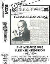 FLETCHER HENDERSON INDISPENSABLE 1927-1936 CASSETTE ALBUM DOUBLE PLAY TRIBUNE 30