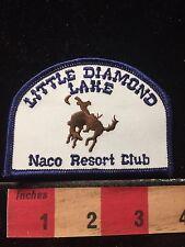 Little Diamond Lake Washington  RV Camper Patch NACO Resort Club 60C5