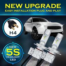 2X H4 9003 HB2 180W 18000LM 6500K LED Headlight Bulbs HID Replacement Kit Lamps